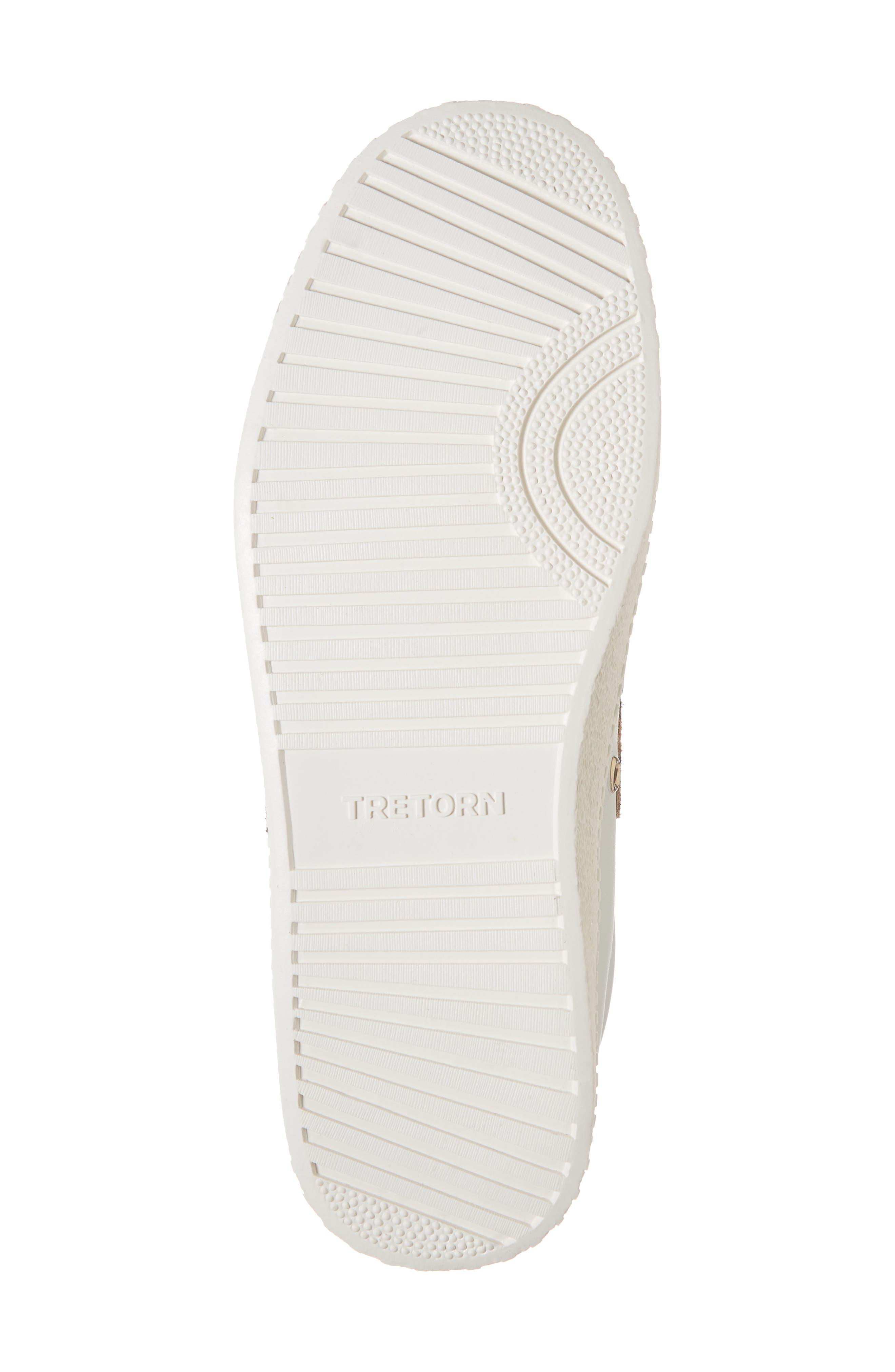 Patterned Sneaker,                             Alternate thumbnail 3, color,                             Vintage White/ Tan Multi