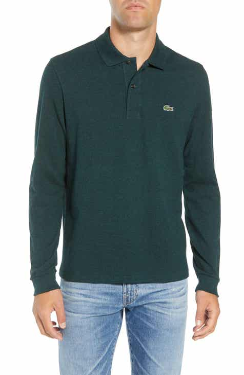 643f8c206 Lacoste Regular Fit Long Sleeve Piqué Polo