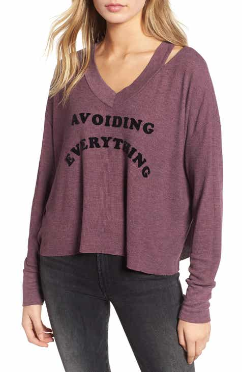 Wildfox Hayley - Avoiding Everything Top