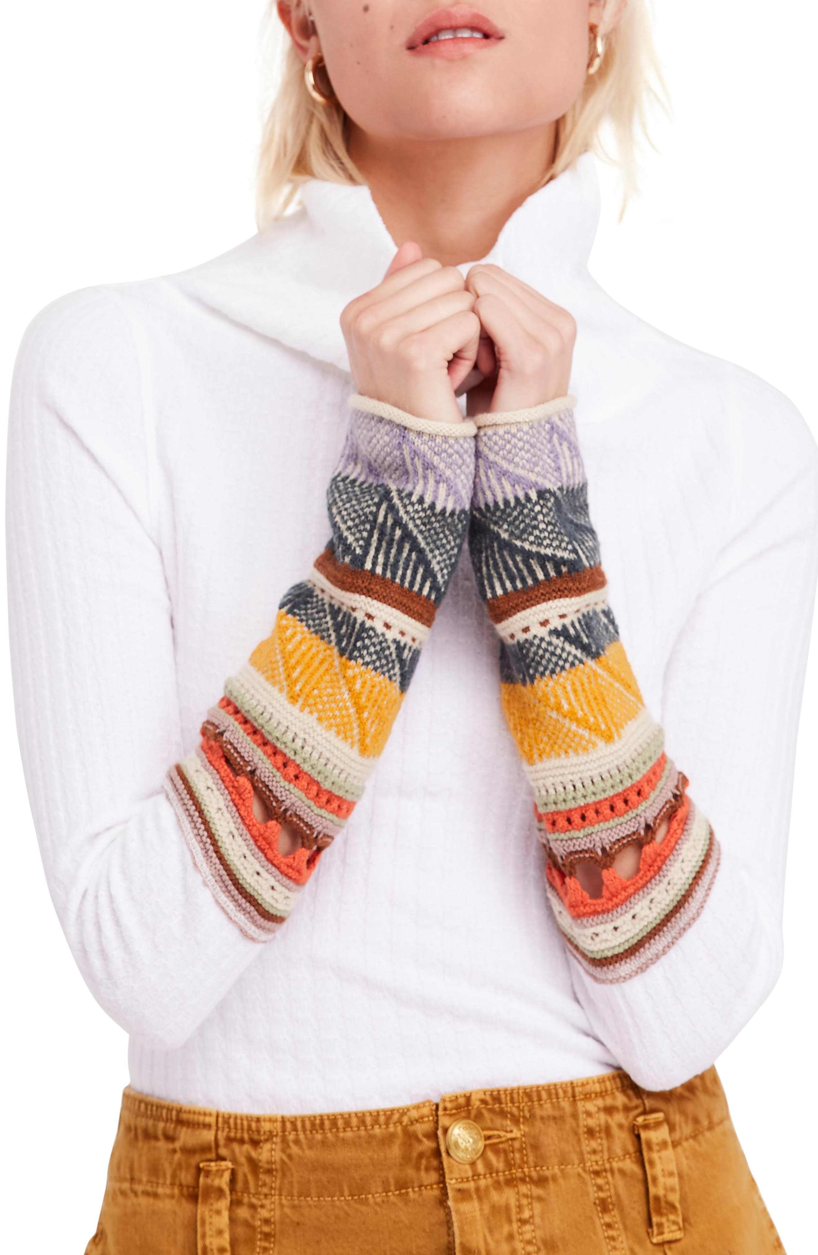 Mixed Up Cuff Sweater by Free People