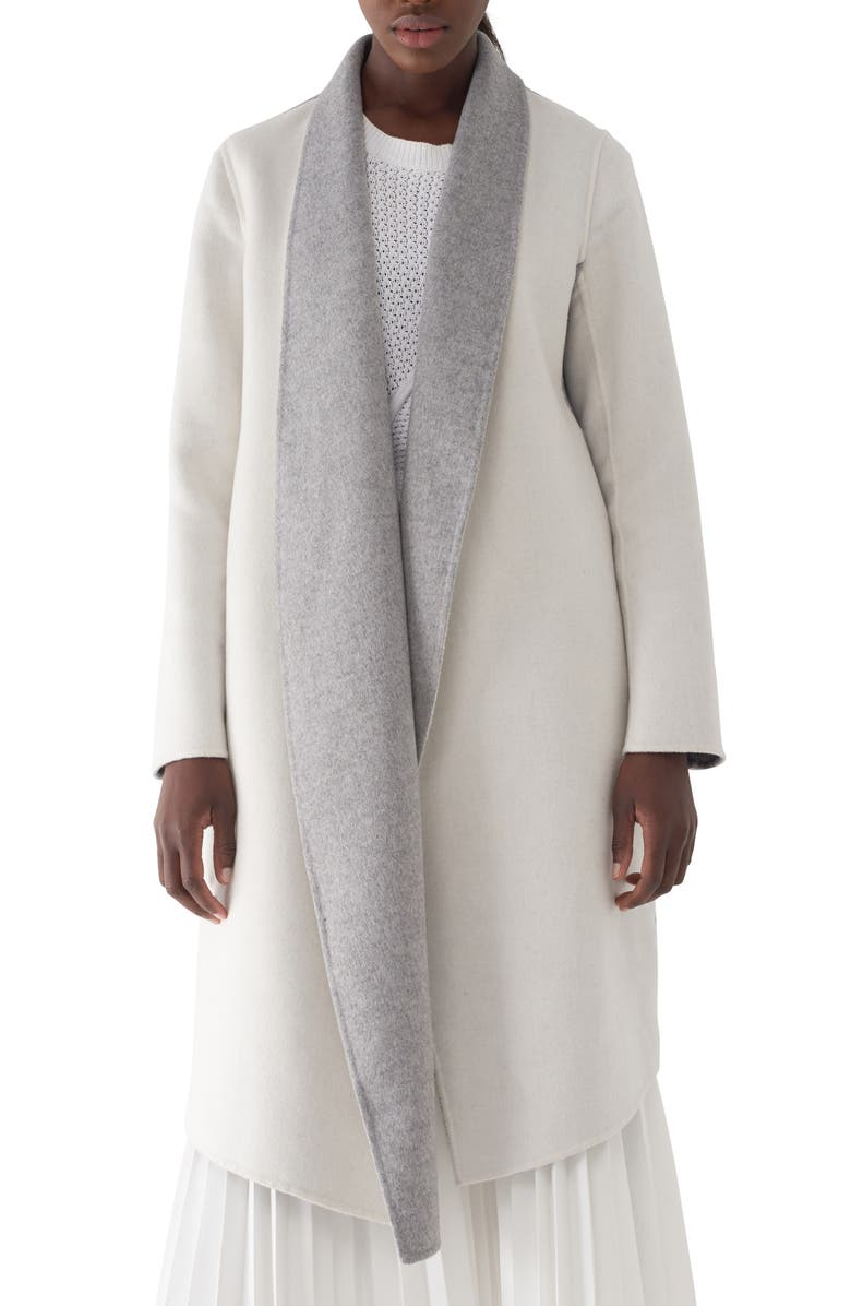 Gloria Colorblock Double Faced Coat