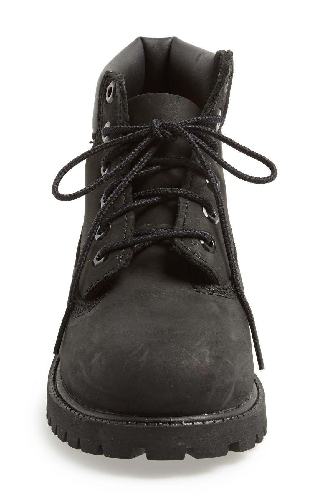 '6 Inch Premium' Waterproof Boot,                             Alternate thumbnail 3, color,                             Black Nubuck