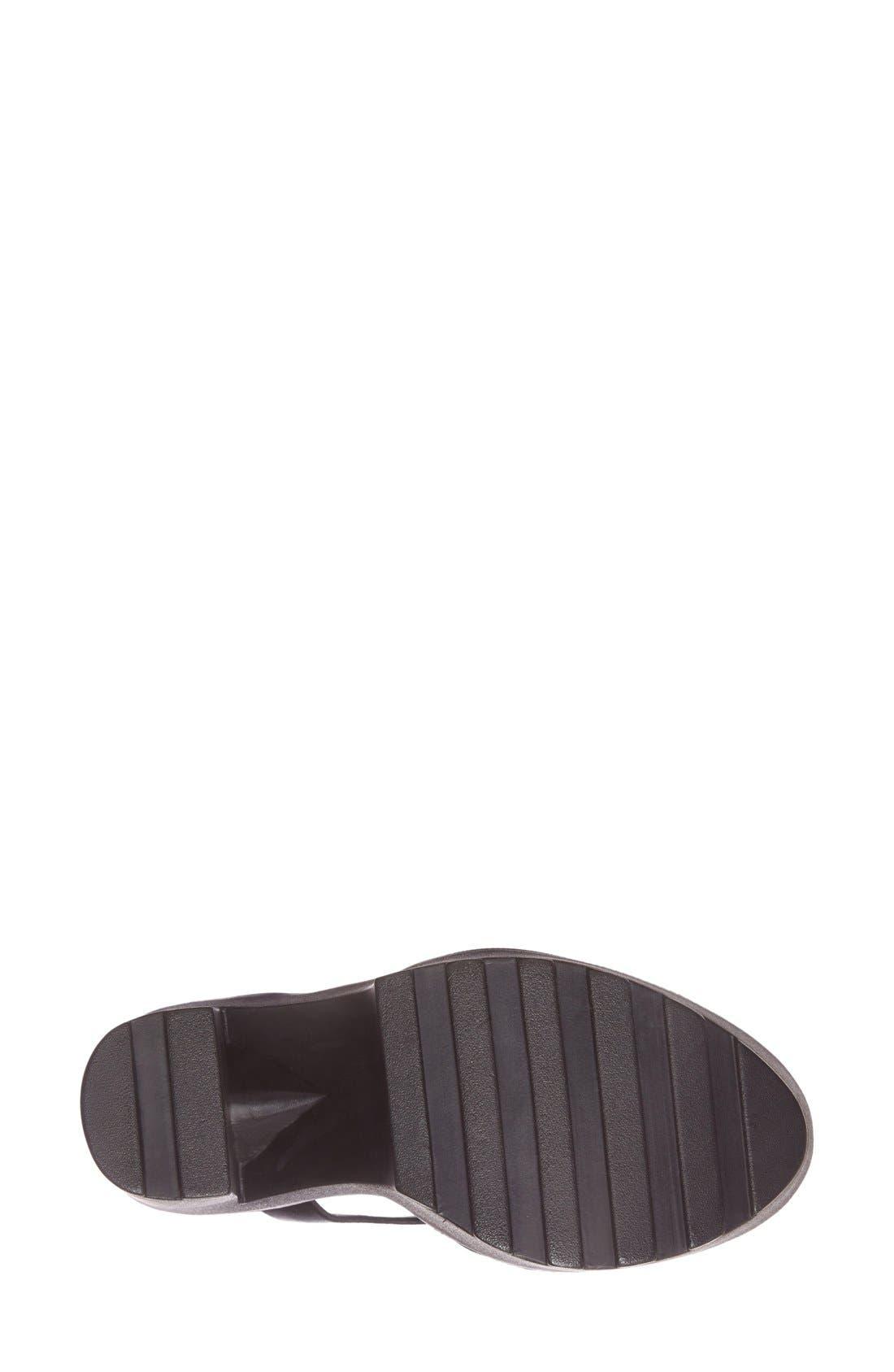 Alternate Image 4  - Steve Madden 'Girltalk' Leather Platform Sandal (Women)