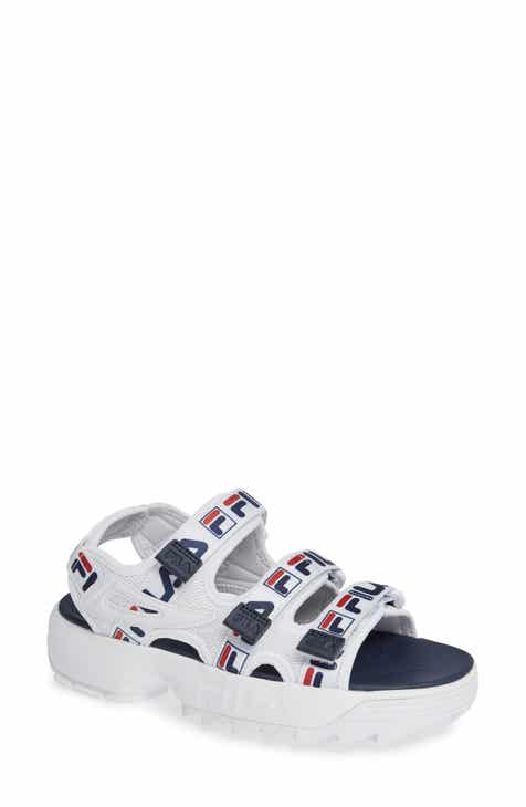 223e6e14451 Women s FILA Platform Sandals  Wedge