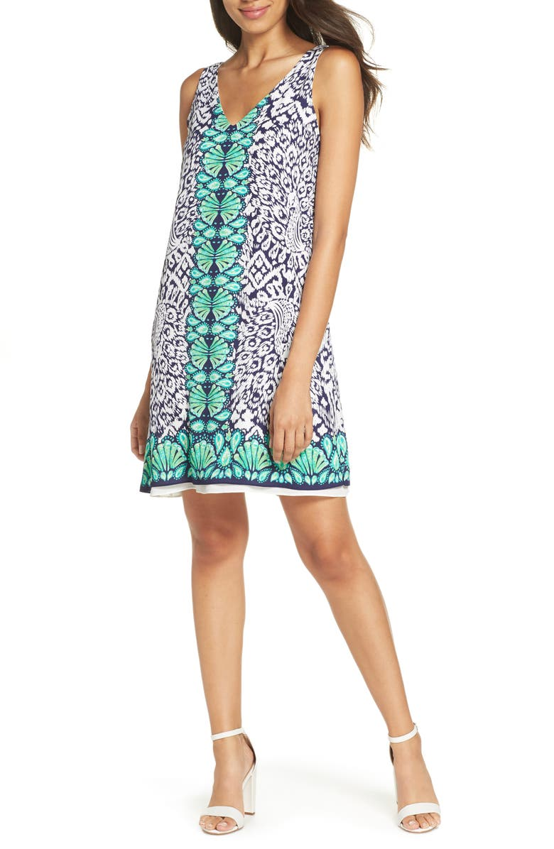 Florin Sleeveless Shift Dress