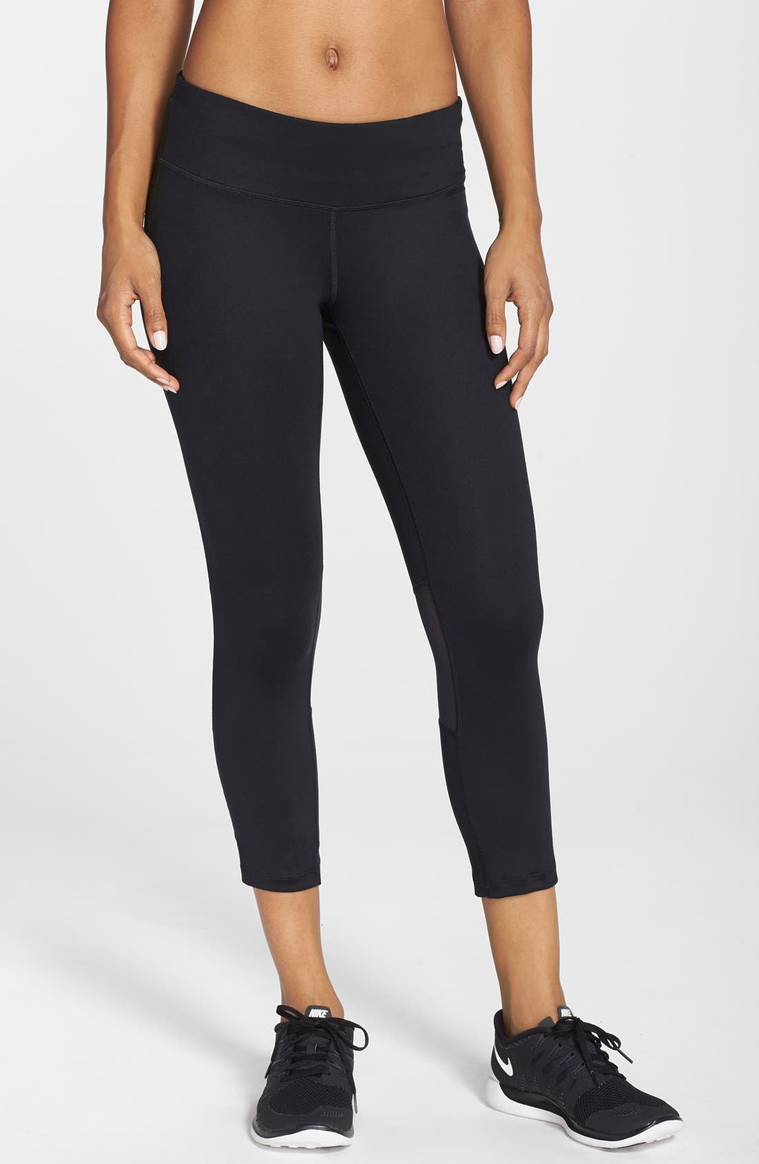 Main Image - Nike 'Epic Run' Dri-FIT Crop Tights