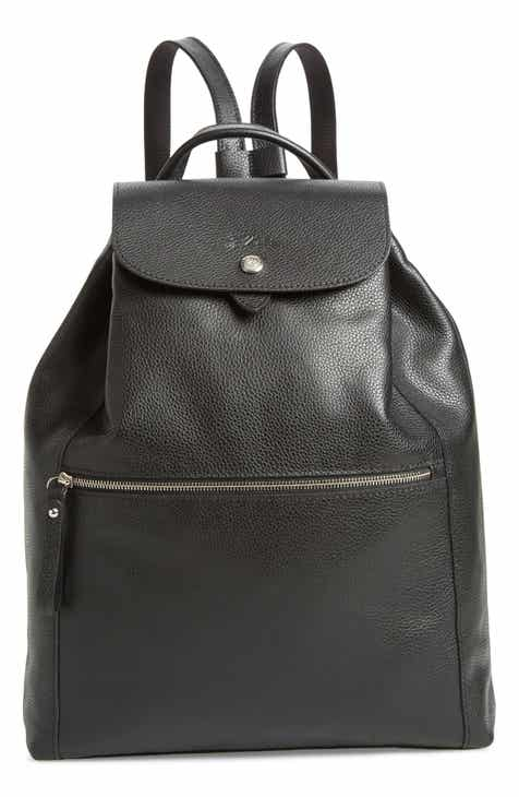54765ebb2032 Longchamp Veau Leather Backpack