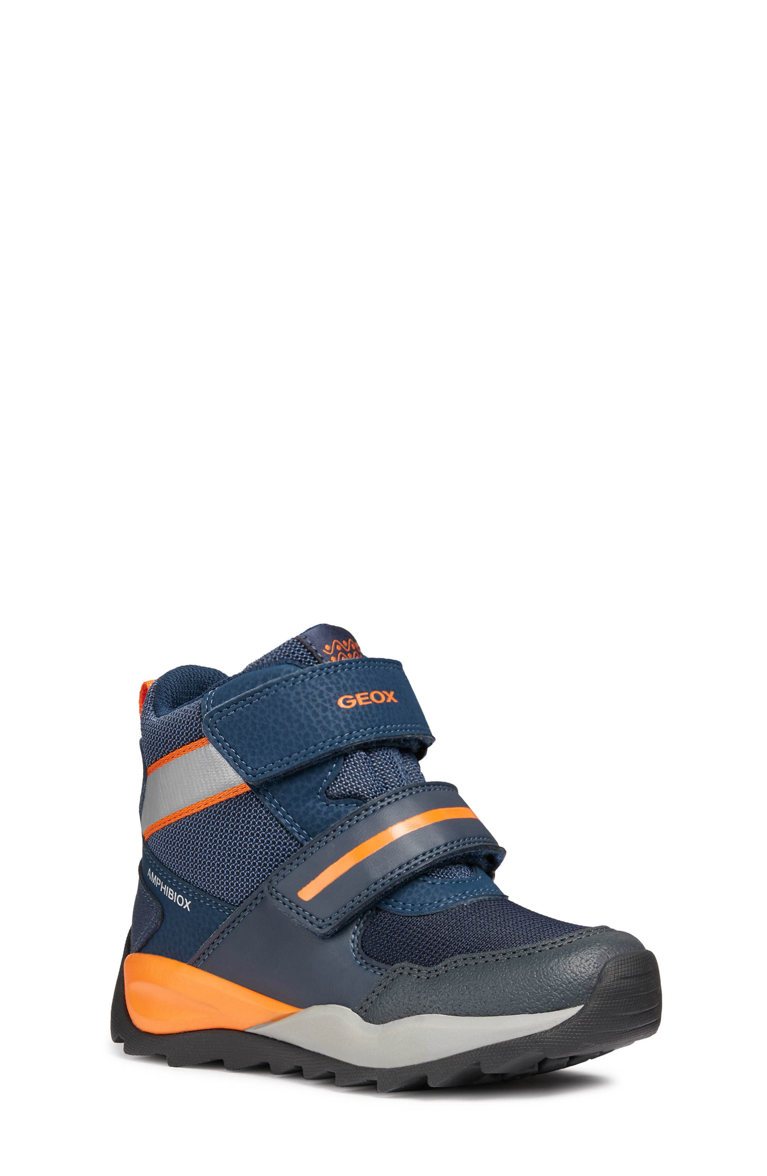 GEOX SPORT RESPIRA Light Up Boys Sneakers Shoes Size 30 Us 12