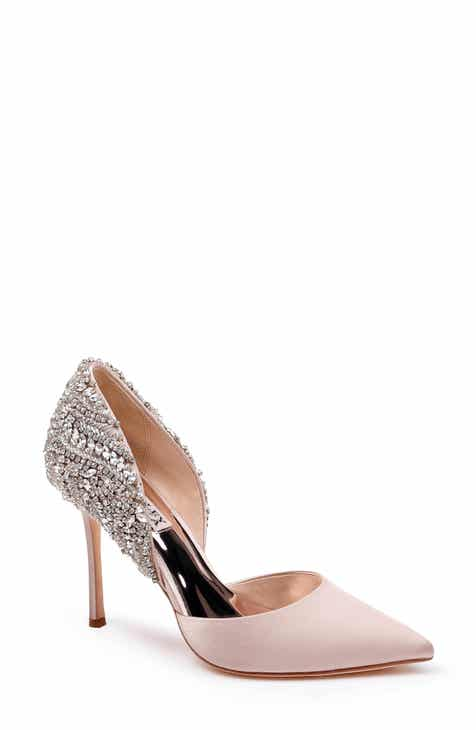 715c1738baf Badgley Mischka Volare Crystal Embellished d Orsay Pump (Women)
