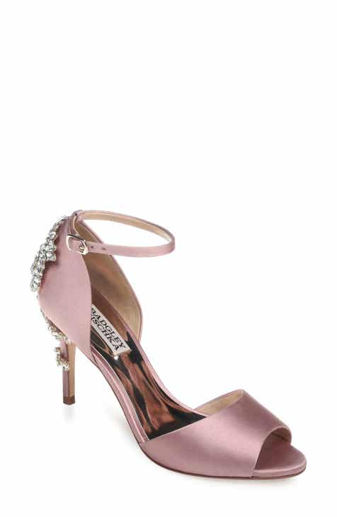 13babaf44d5e Badgley Mischka Vienna Crystal Embellished Ankle Strap Pump (Women)