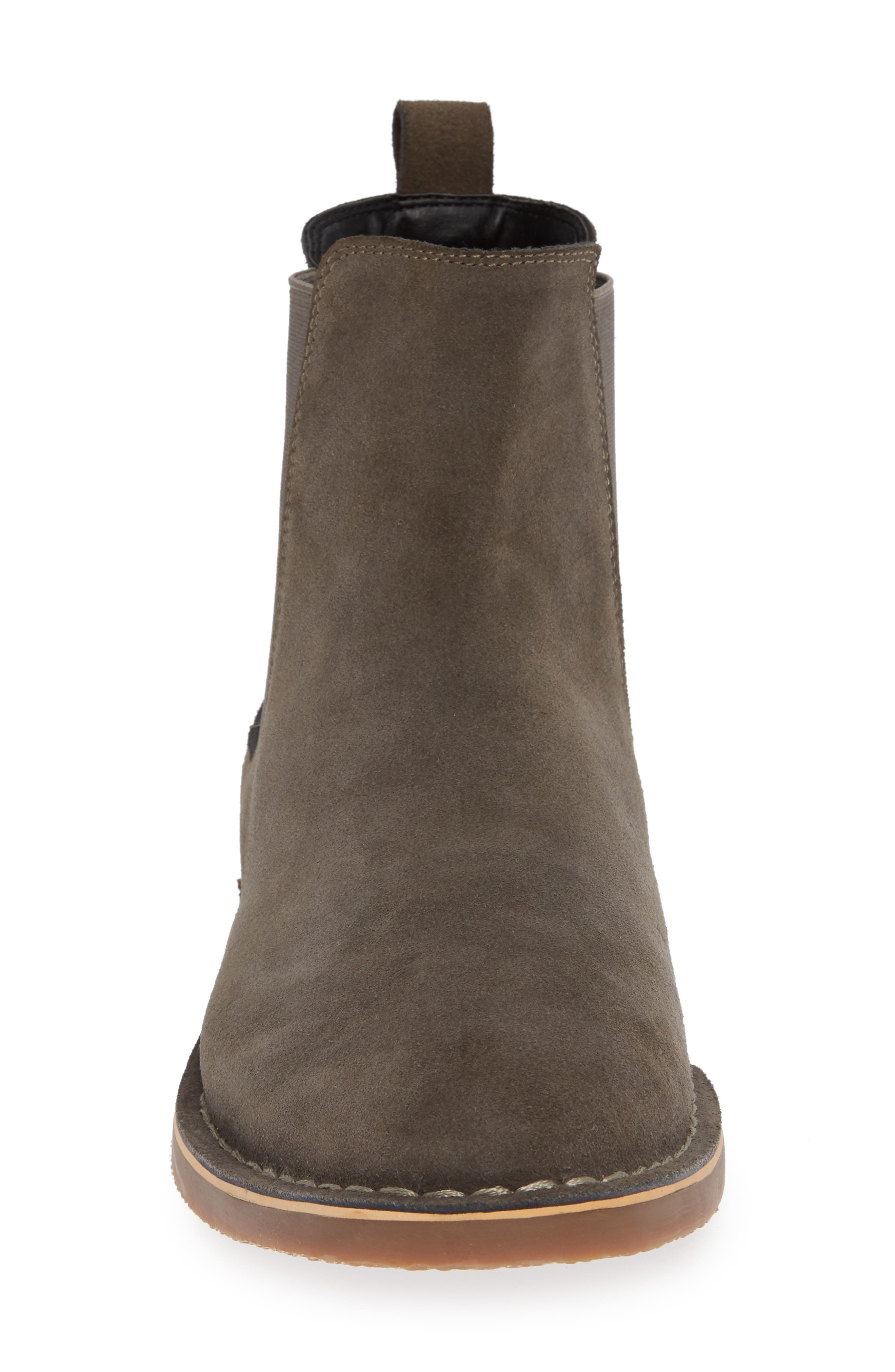 Mesa Chelsea Boot,                             Alternate thumbnail 5, color,                             Charcoal Suede