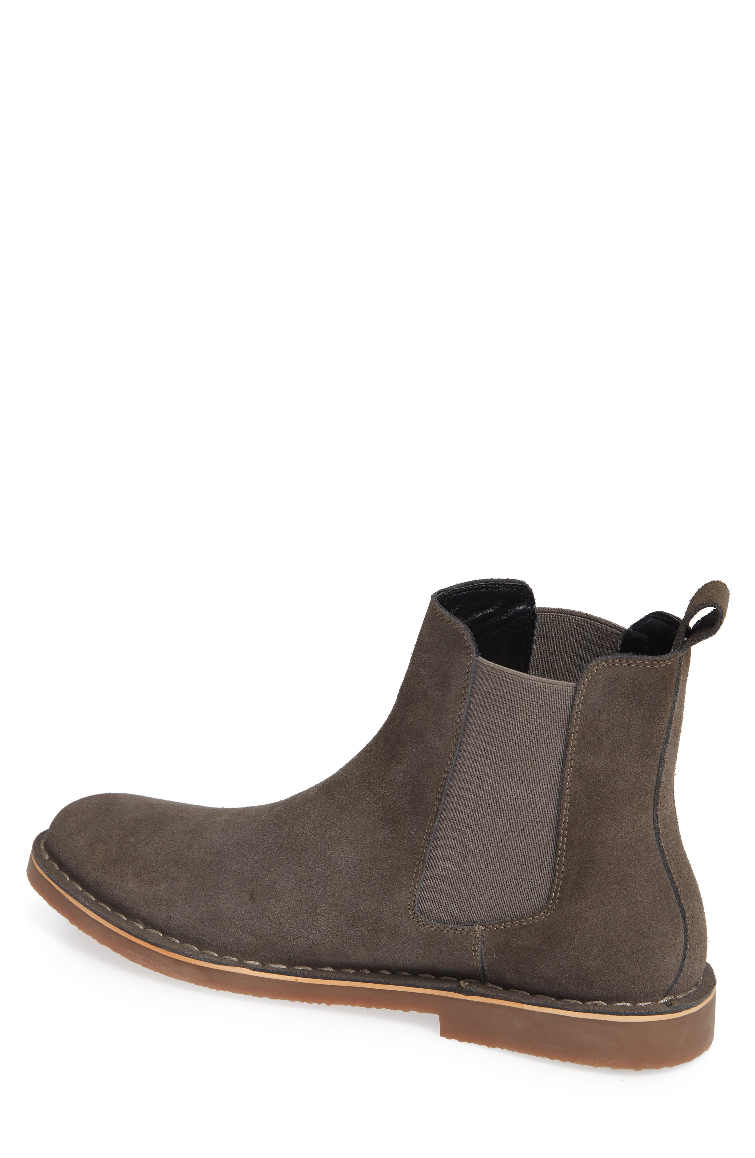 Mesa Chelsea Boot,                             Alternate thumbnail 2, color,                             Charcoal Suede