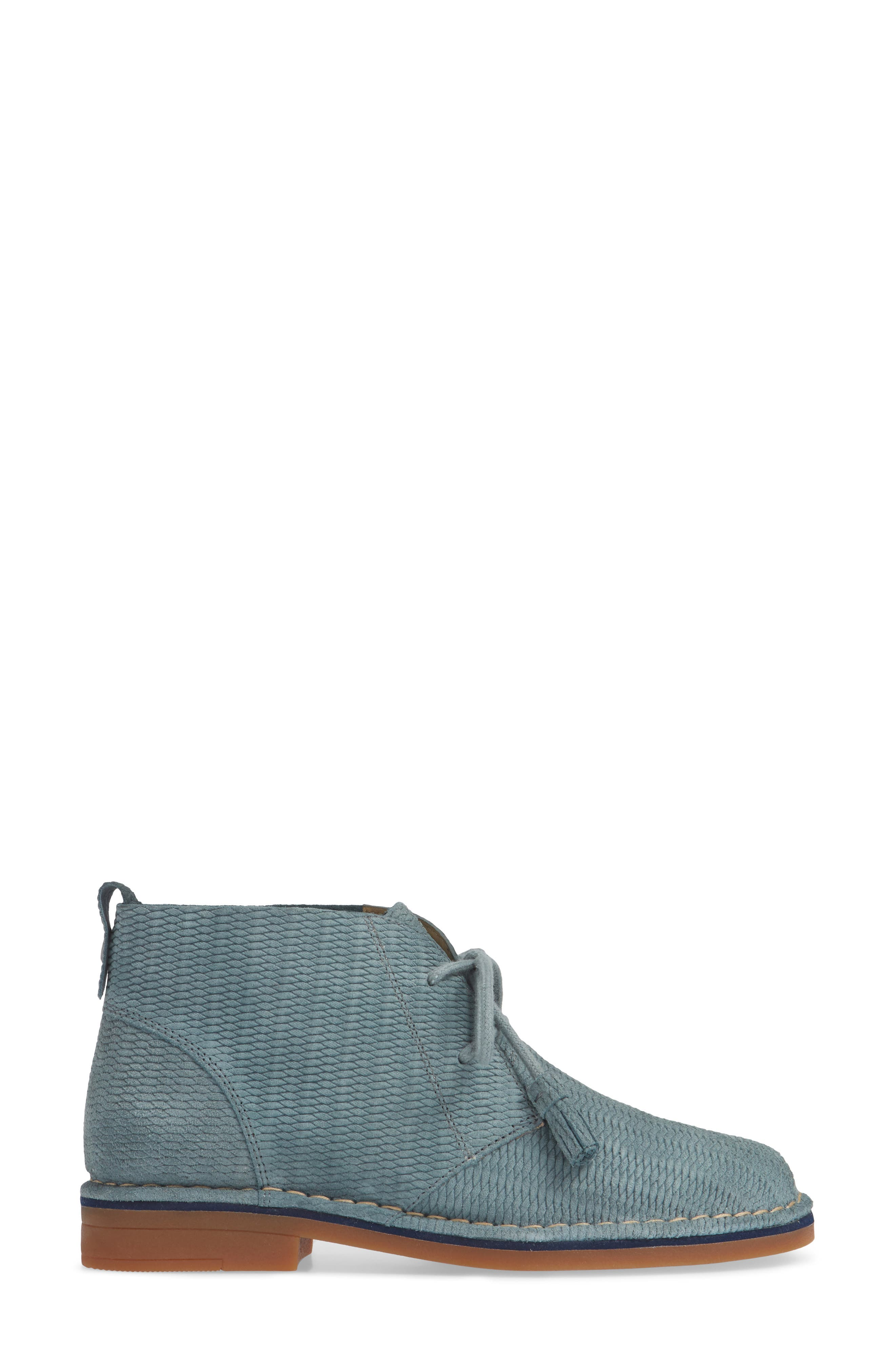 'Cyra Catelyn' Chukka Boot,                             Alternate thumbnail 3, color,                             Storm Embossed Suede