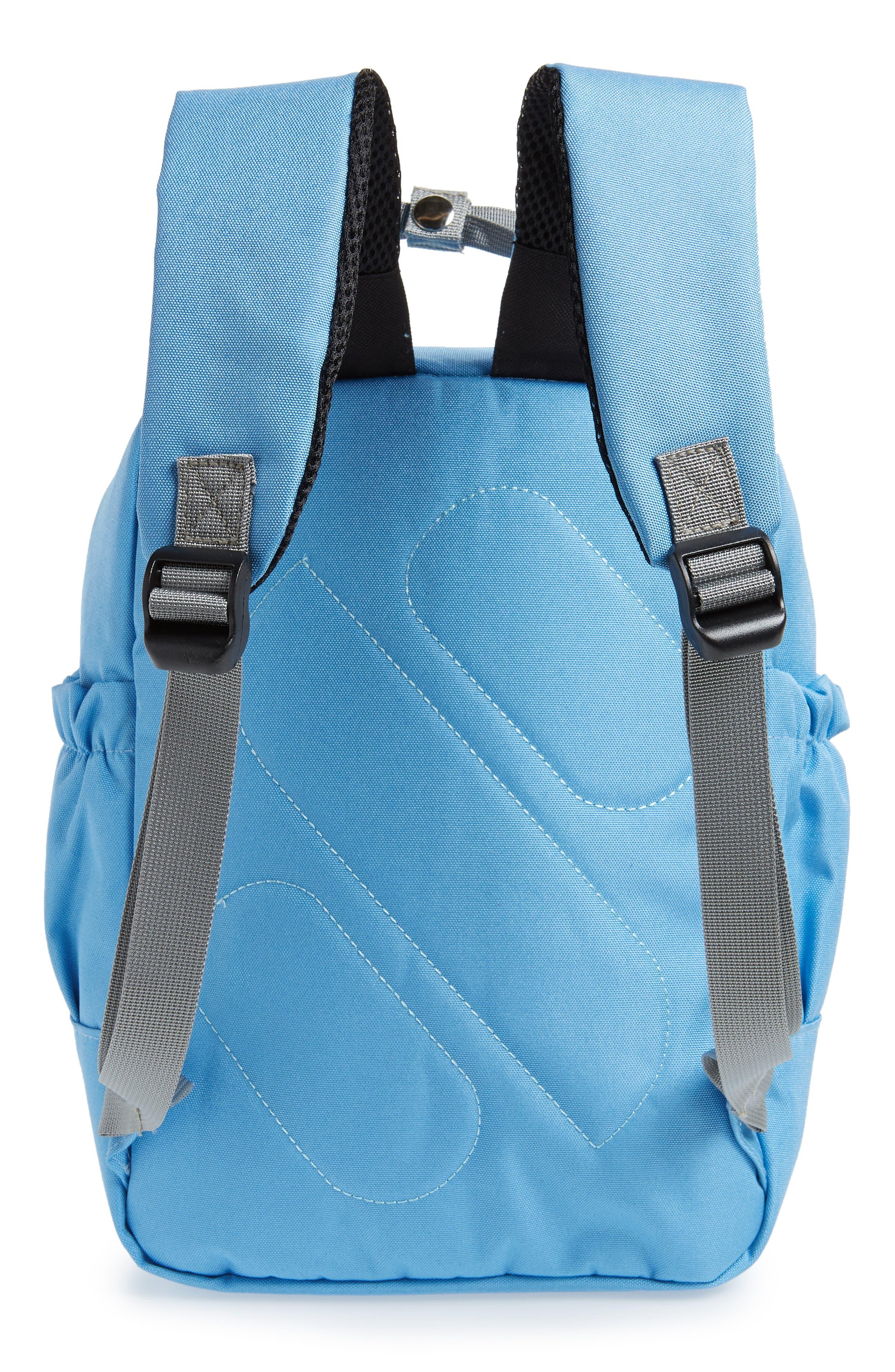 Solid Backpack,                             Alternate thumbnail 2, color,                             Light Blue/ Grey
