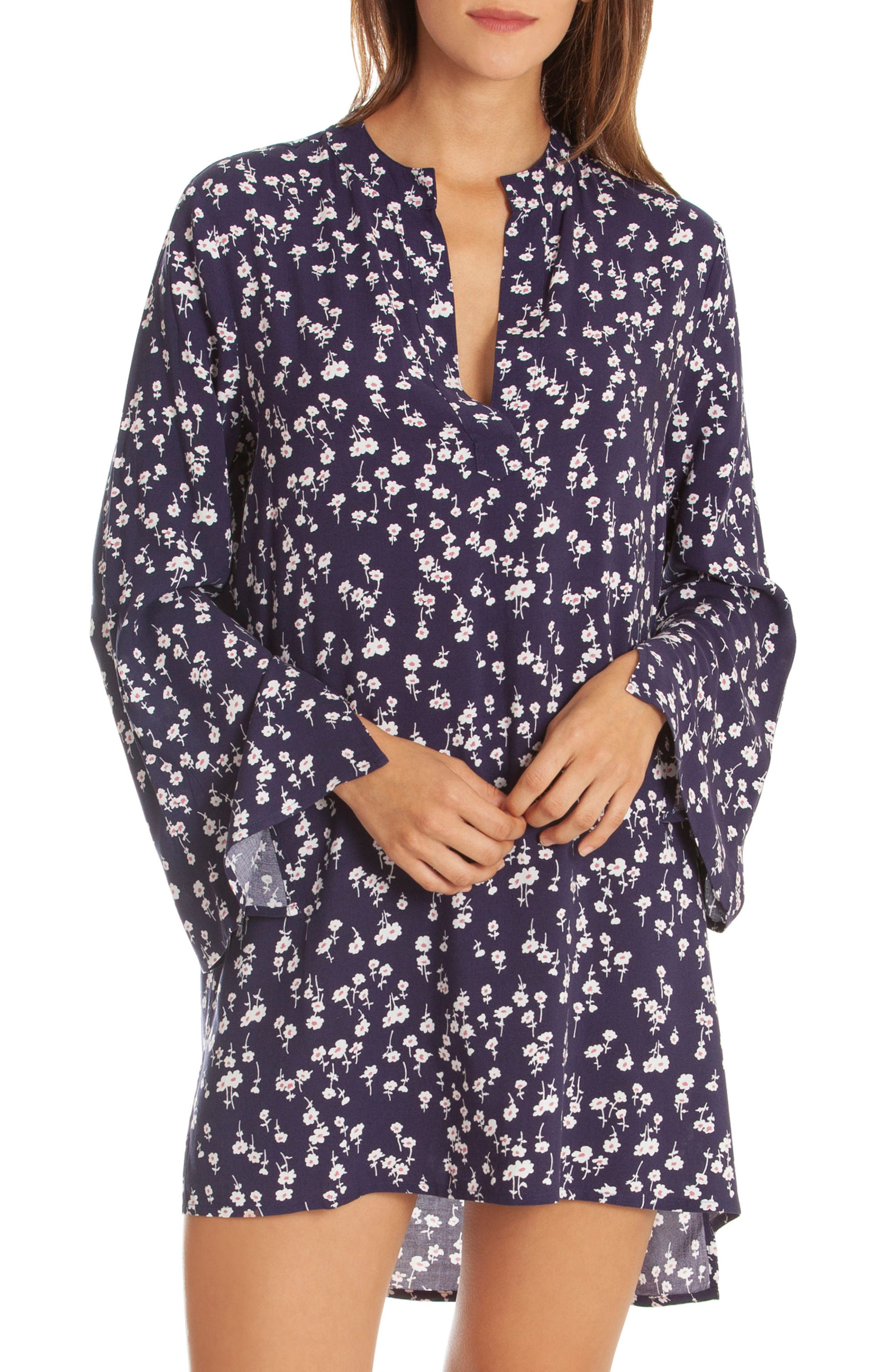 IN BLOOM BY JONQUIL FLORAL SLEEP SHIRT
