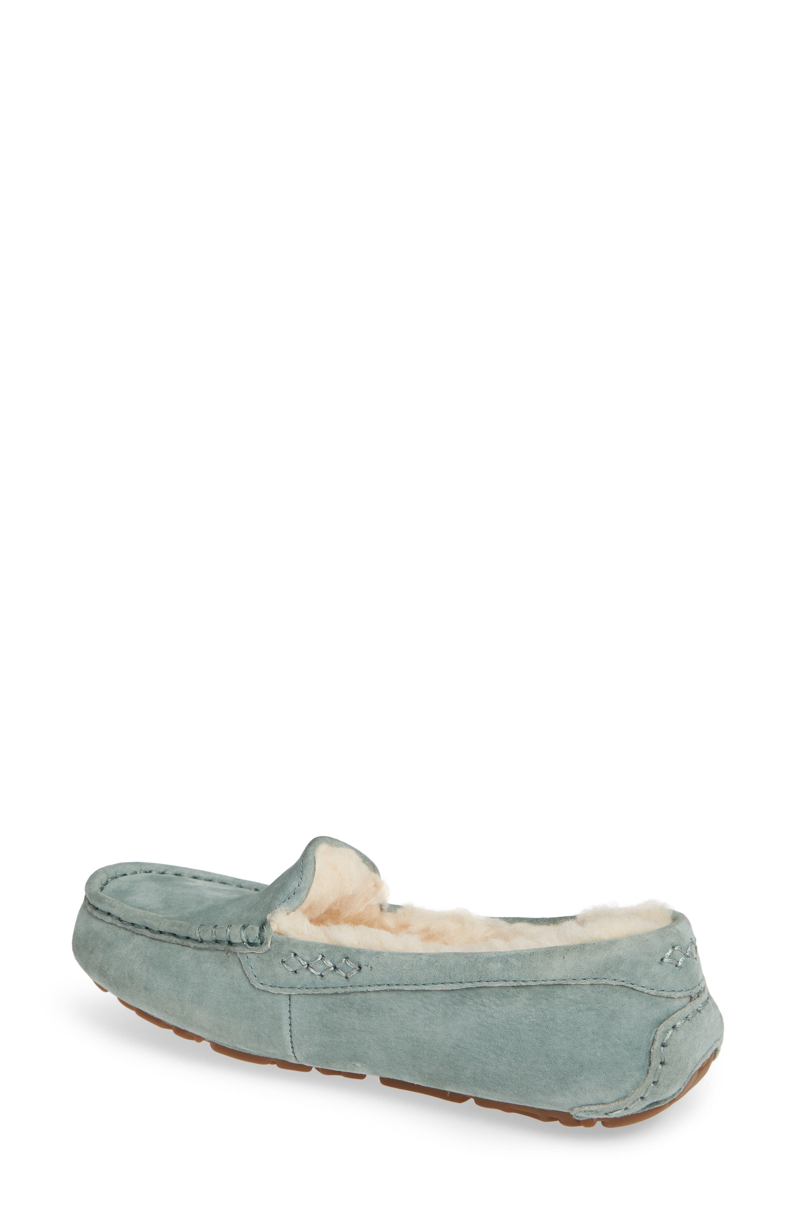 Ansley Water Resistant Slipper,                             Alternate thumbnail 2, color,                             Sea Green
