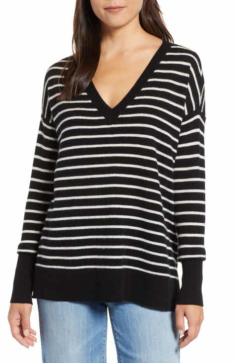 Black And White Striped Sweater Nordstrom
