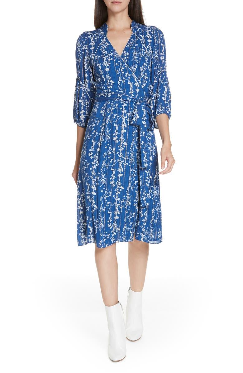 bash Folia Faux Wrap Dress