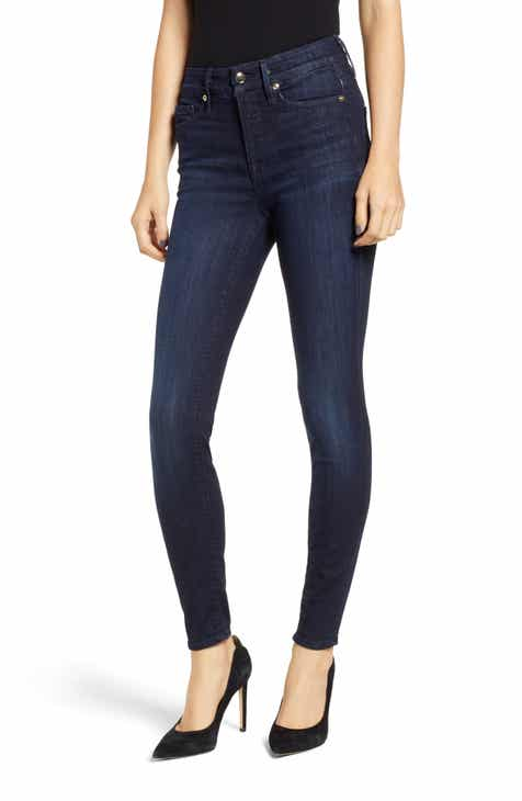 3a085c349a43 Good American Good Legs High Waist Skinny Jeans (Blue 224) (Regular   Plus  Size)