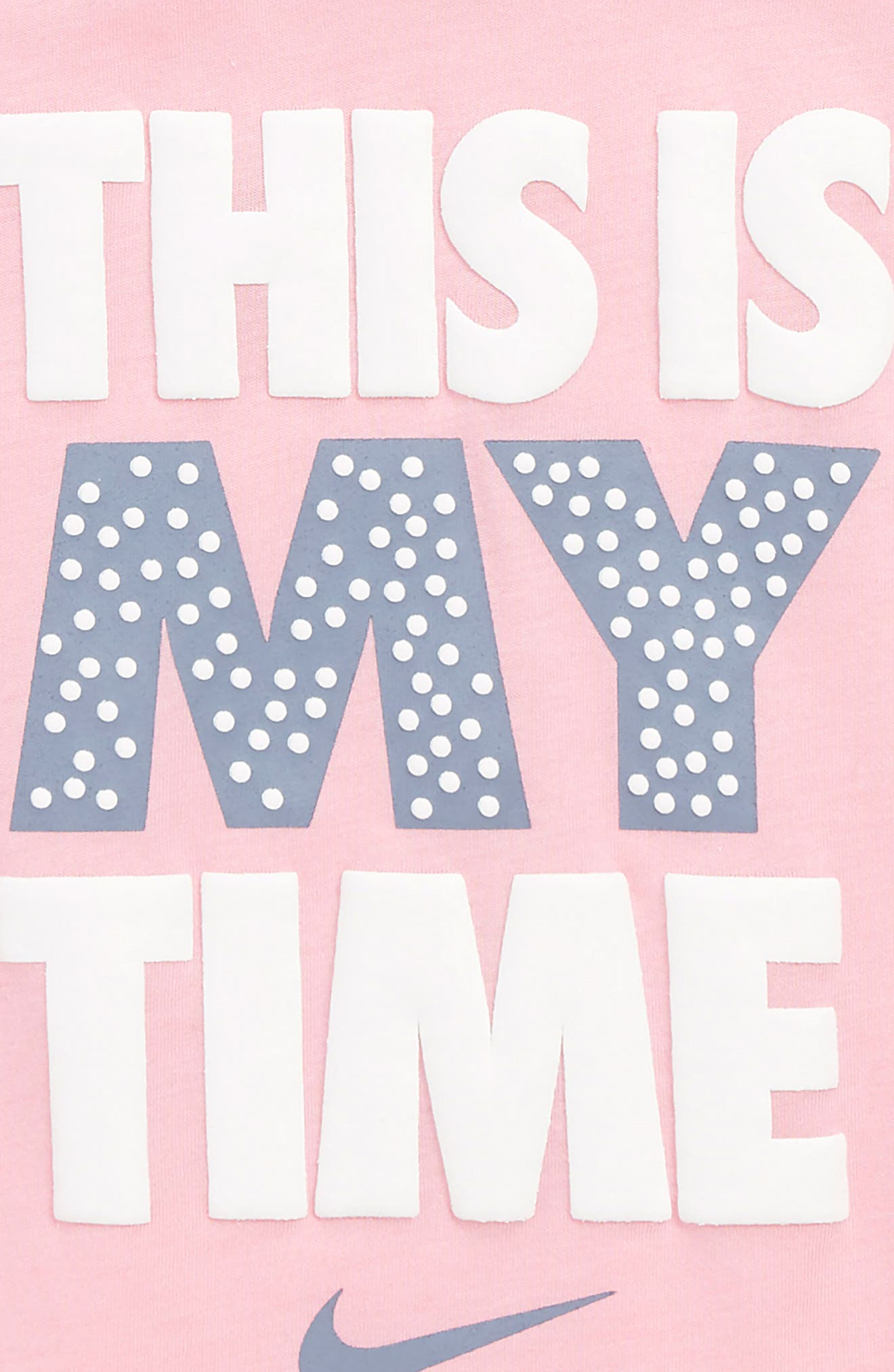 This is My Time Modern Tee,                             Alternate thumbnail 2, color,                             Pink