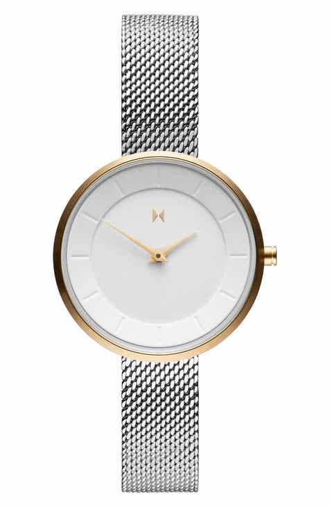 855c5b577f7 MVMT Mod Mesh Strap Bracelet Watch