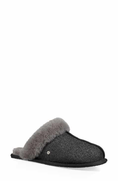 UGG® Scuffette II Sparkle Genuine Shearling Slipper (Women) 353e08544