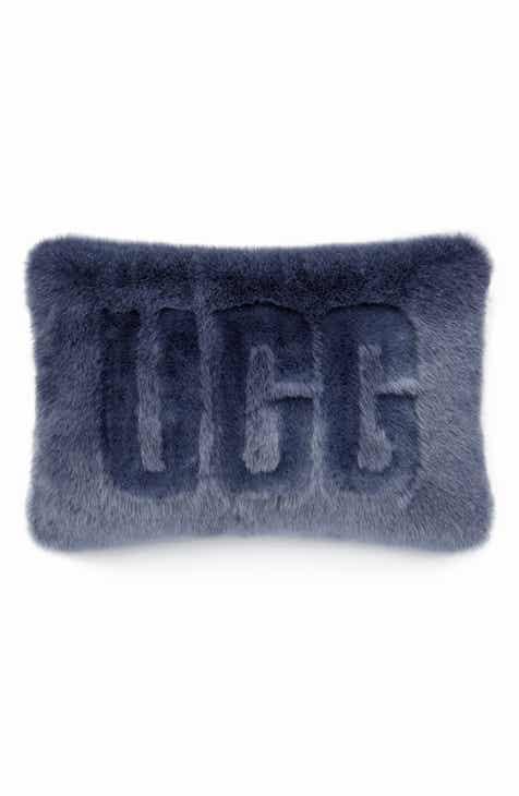 d552026f3cb4 UGG® Logo Royale Faux Fur Accent Pillow