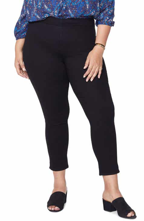 NYDJ High Rise Pull-On Ankle Jeans (Plus Size) by NYDJ