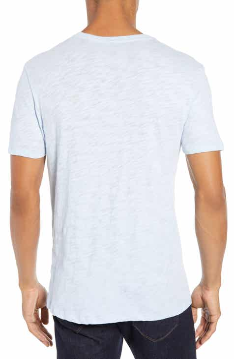 ATM Anthony Thomas Melillo Slub V-Neck T-Shirt