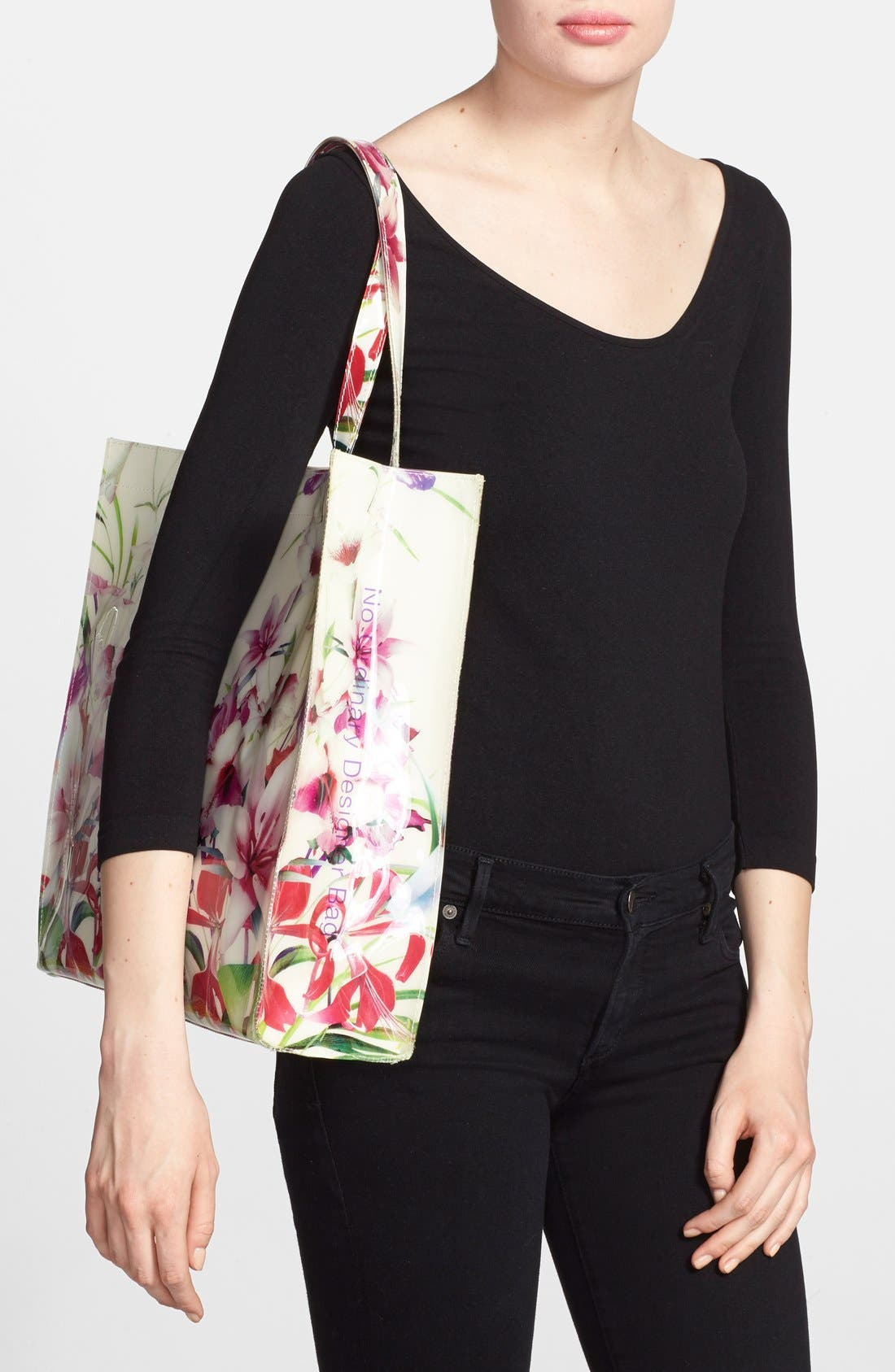 Alternate Image 2  - Ted Baker London 'Mirrored Tropics Icon' Tote