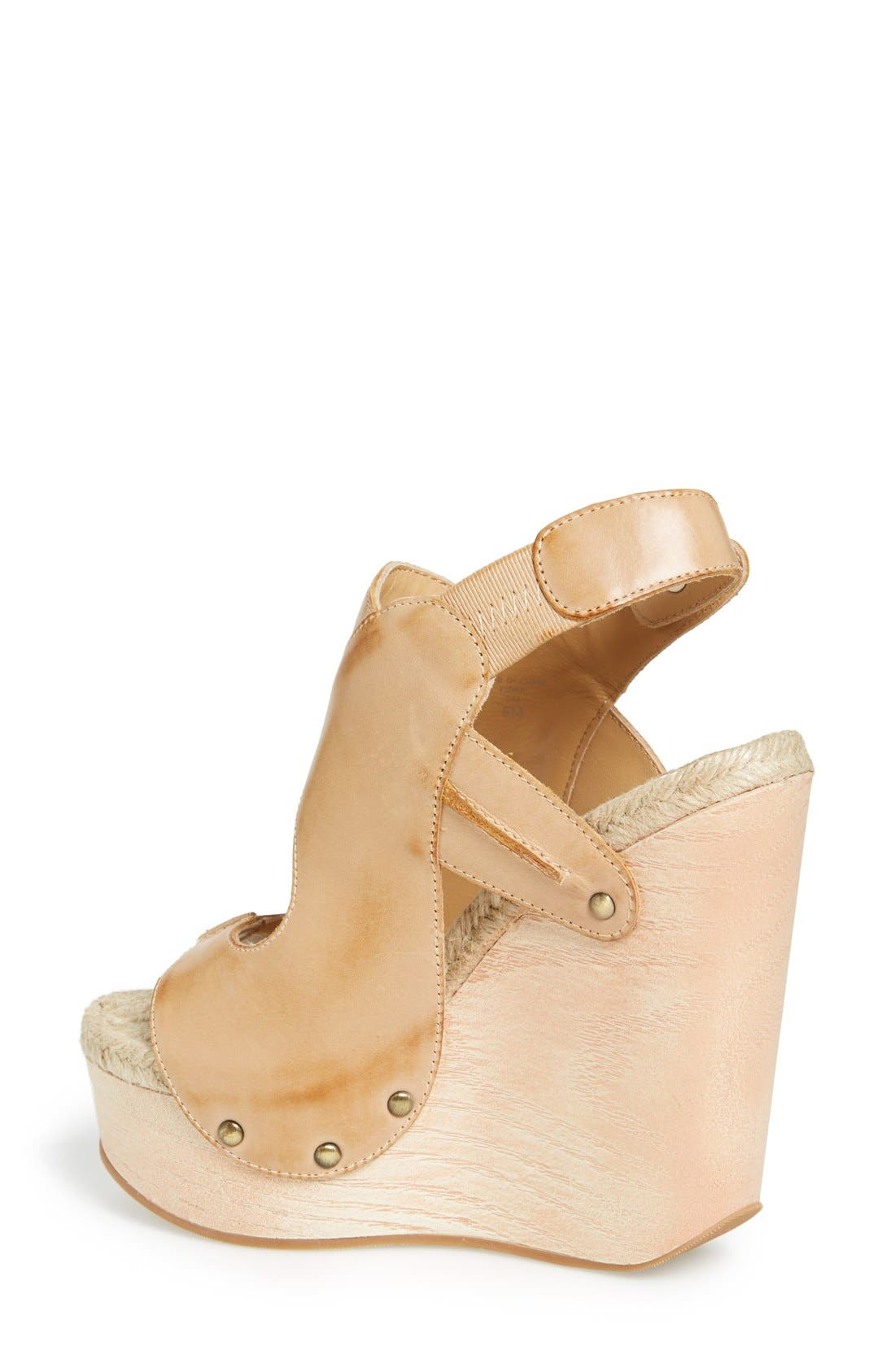 Alternate Image 4  - MAXSTUDIO 'Fiore' Platform Wedge Sandal (Women)