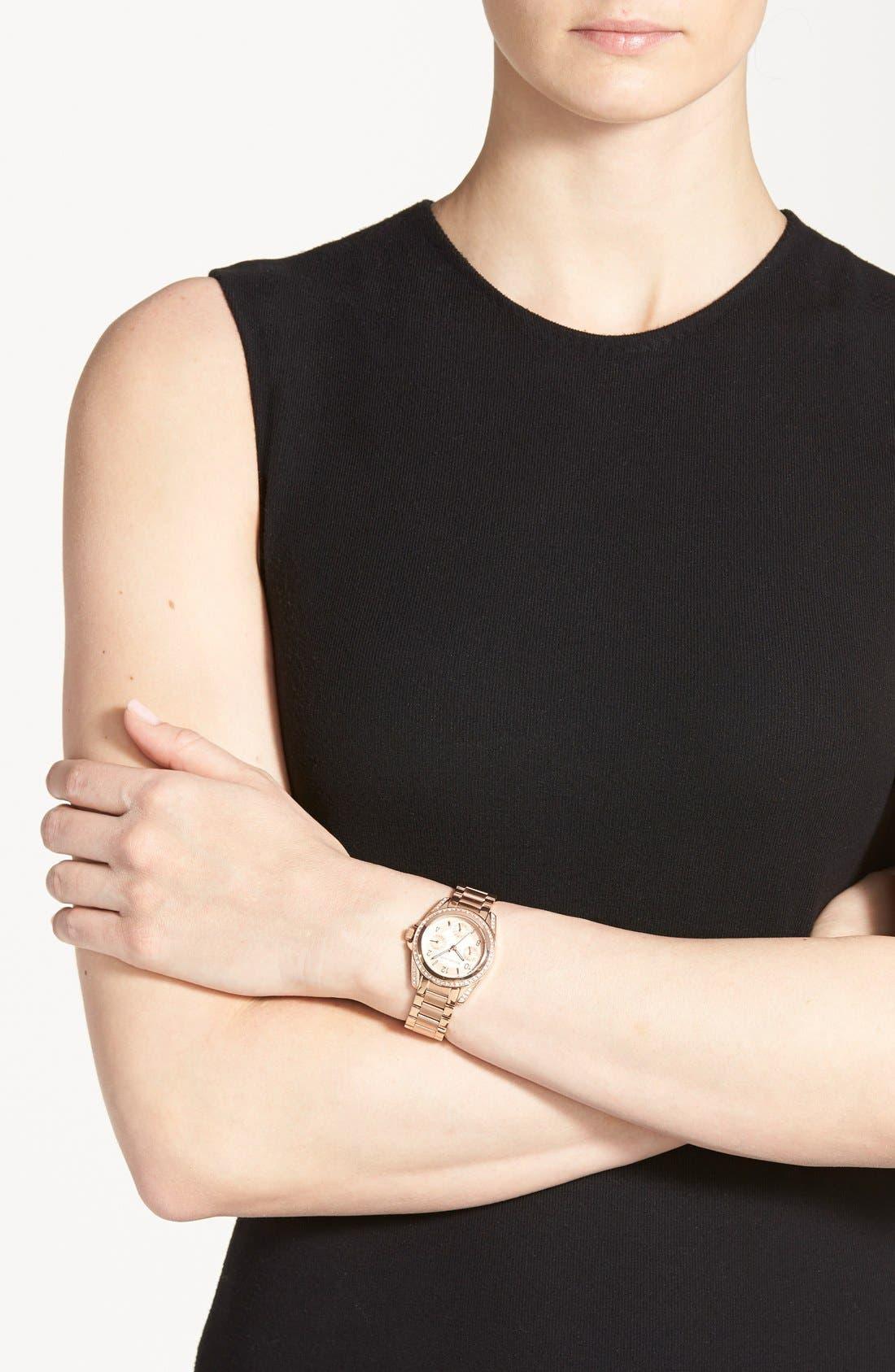 Alternate Image 2  - Michael Kors 'Blair - Mini' Multifunction Watch, 33mm