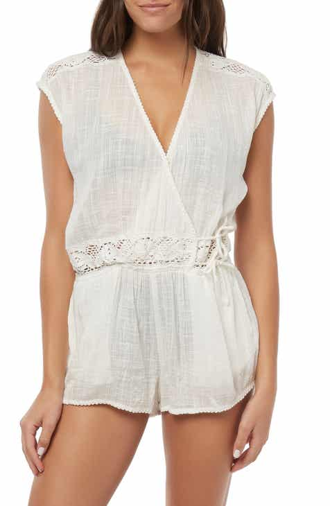 937850b74af45 O Neill Saltwater Solids Cover-Up Romper
