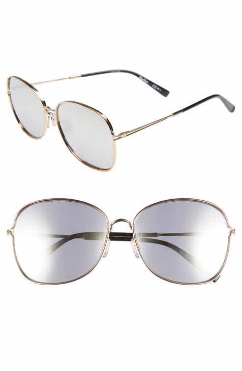 71f4da281a25b Max Mara 60mm Aviator Sunglasses