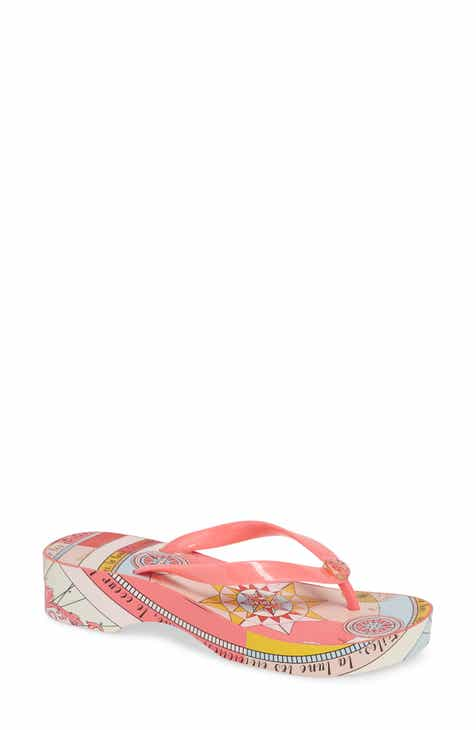 cd4ca9dc1e8 Tory Burch Wedge Flip Flop (Women)