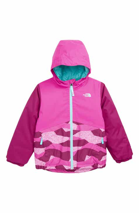 The North Face Snowquest Waterproof Insulated Winter Jacket (Toddler Girls    Little Girls) 94dfa3043