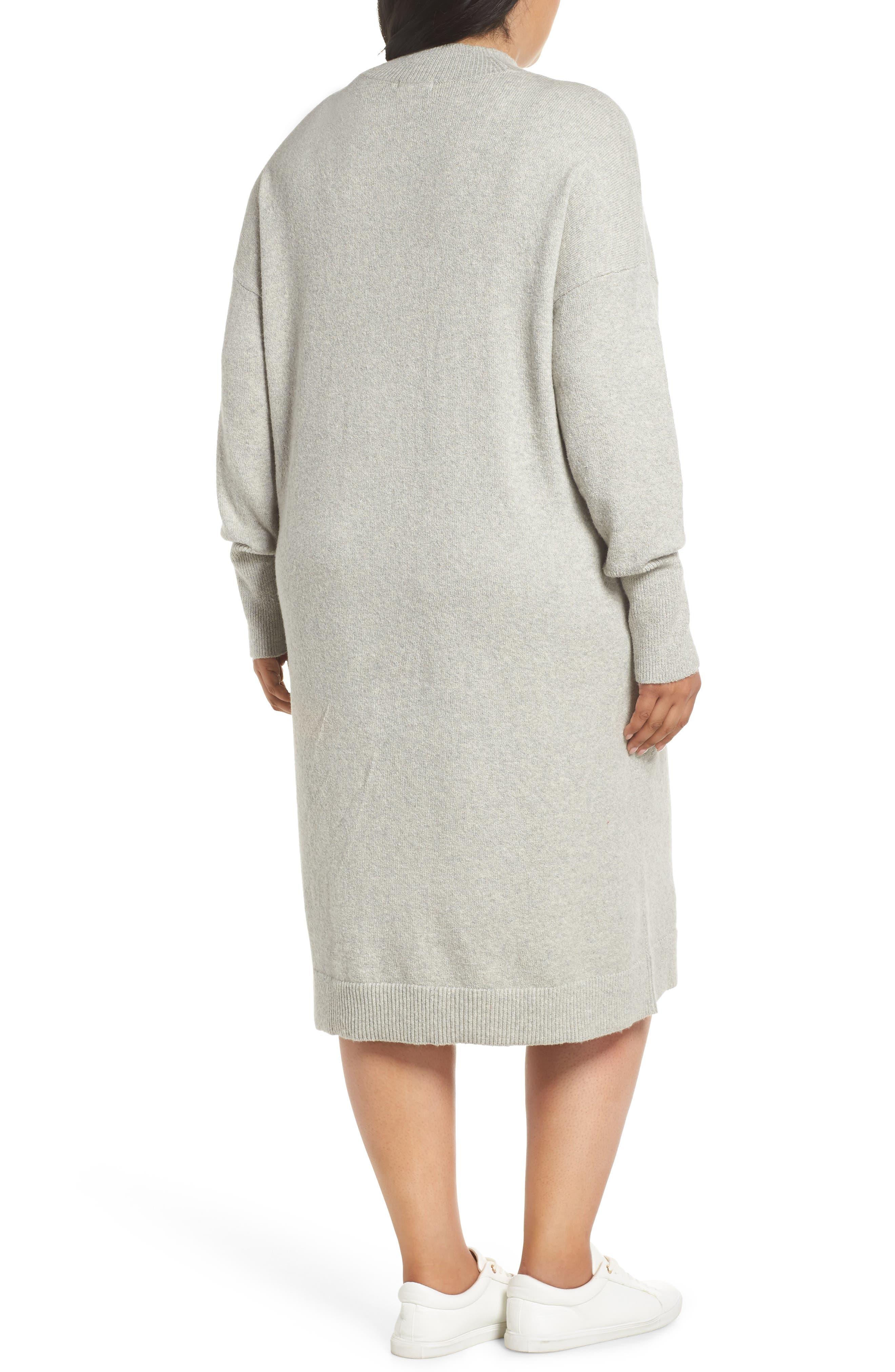 67015e3a028 Mock Neck Plus-Size Dresses