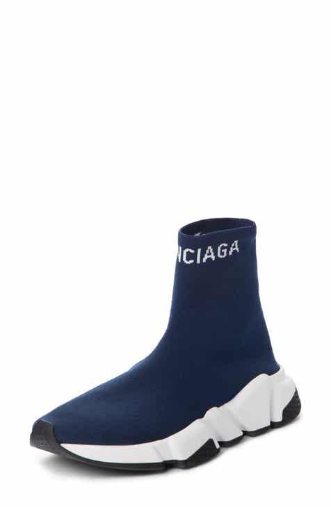 07804f8815d9 Balenciaga Hi Speed Logo Sock Sneaker (Women)