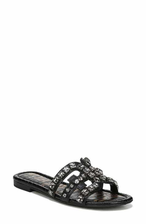 6962eee0d524ee Sam Edelman Bay 2 Embellished Slide Sandal (Women)