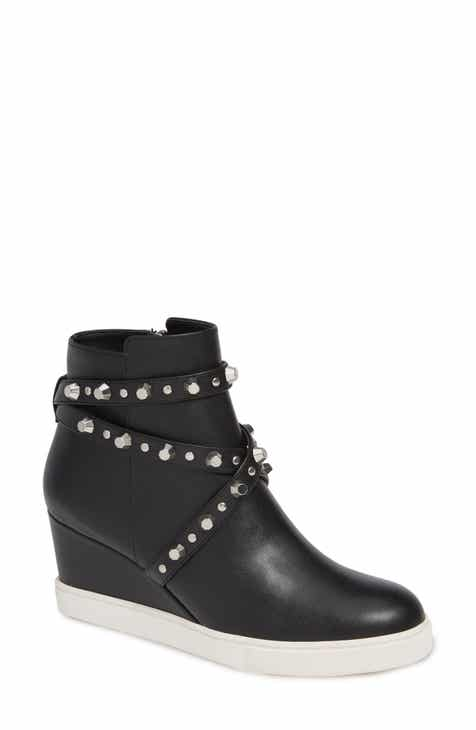 4a64238ad946 Linea Paolo Fallon Studded Wedge Sneaker (Women)
