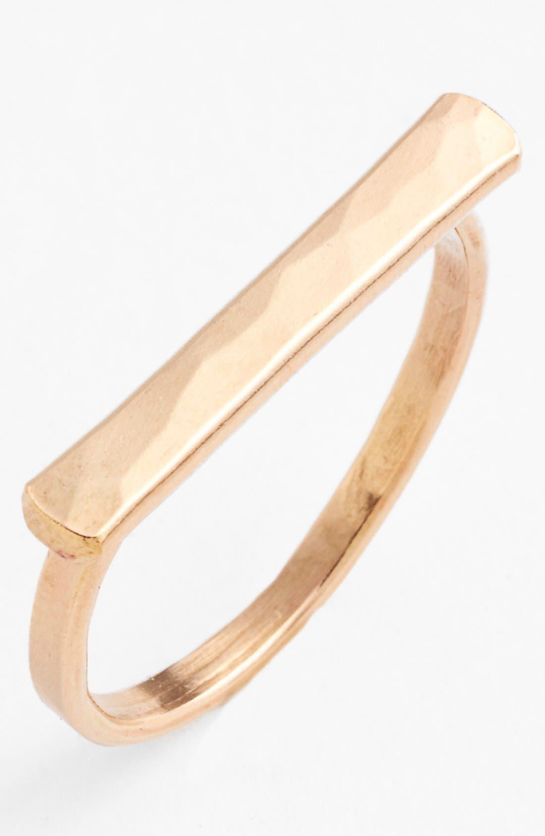 Ija Bar Ring,                         Main,                         color, 14K Gold Fill