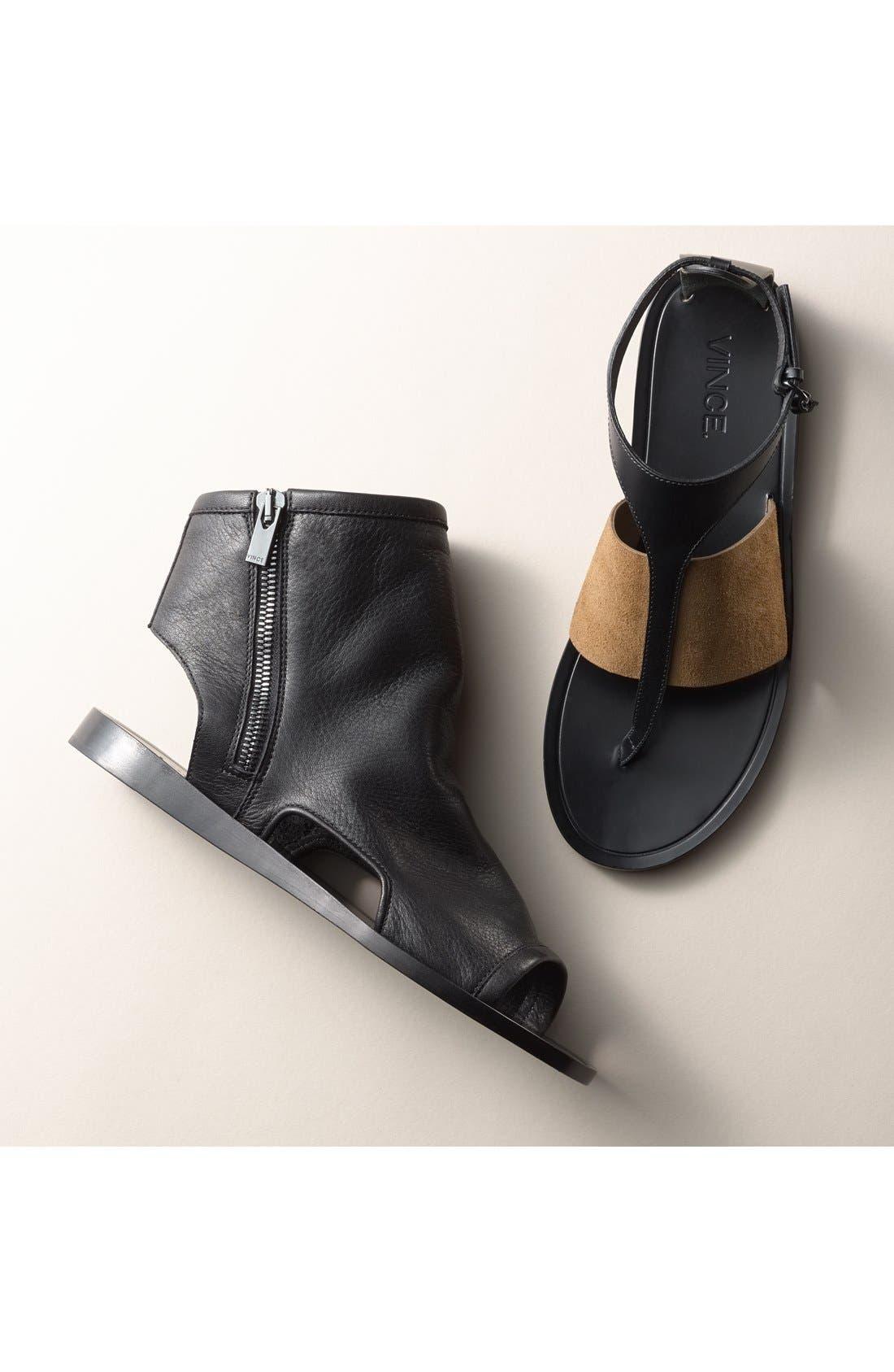 Alternate Image 5  - Vince 'Thea' Ankle Strap Thong Sandal (Women)