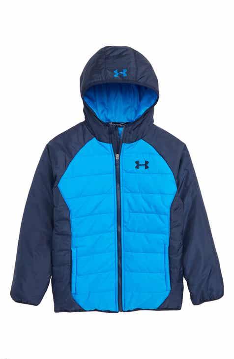 d7367c9a7815 Under Armour Tuckerman Water Repellent ColdGear® Jacket (Big Boys)