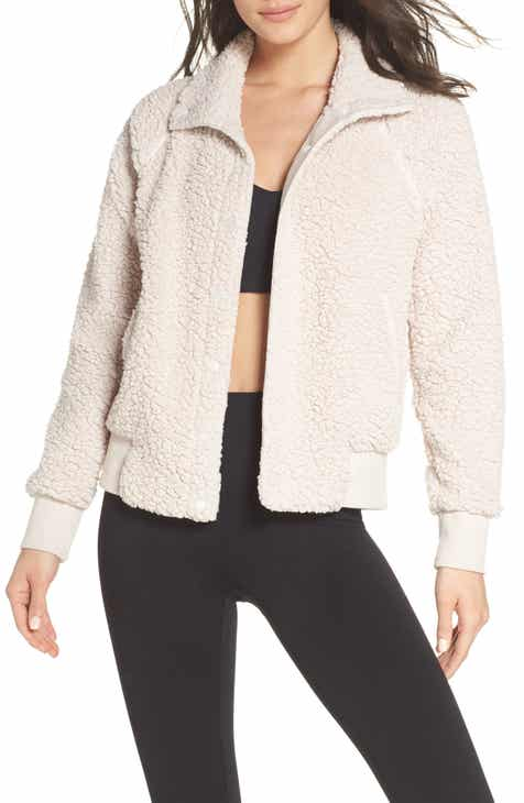 9d0b8fd0cb9 Zella Cozy Up Bomber Jacket