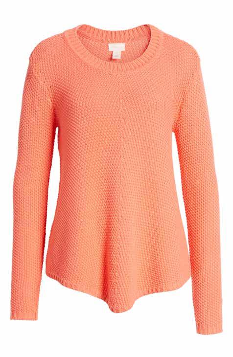 Caslon® Stitch Stripe Sweater (Regular   Petite) eec6d5c9b