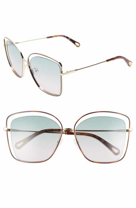5abdde96050 Chloé 60mm Halo Frame Sunglasses