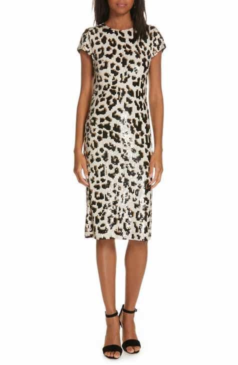 07bec12888 Alice + Olivia Nat Sequin Sheath Dress