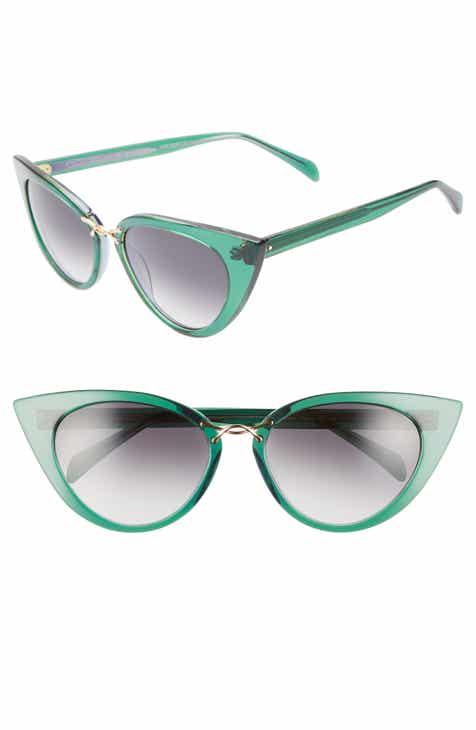 6878246bef6 Oscar de la Renta x Morgenthal Frederics Twisti 58mm Cat Eye Sunglasses