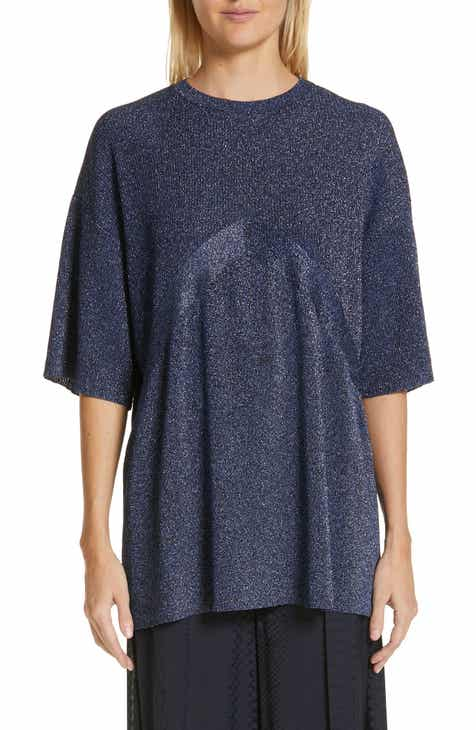 Stella McCartney Metallic Knit Sweater by STELLA MCCARTNEY
