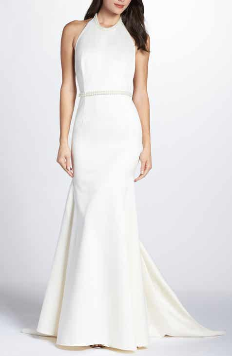 Jenny Packham Chiffon Wrap Evening Dress by JENNY PACKHAM